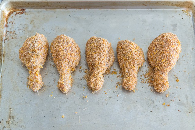 5 Oven Fried Chicken Legs