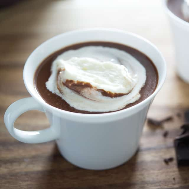 Hot Chocolate from Scratch #hotchocolate #dessert #recipe #drink #homemade