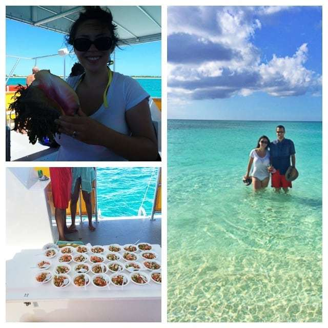 Photo Collage of Turks and Caicos Conch Cruise