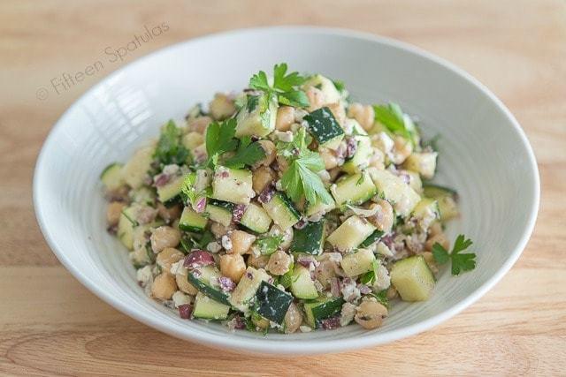 Fresh Greek Zucchini Salad Recipe