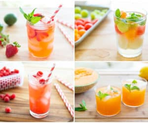 Refreshing Summer Drinks Made with Fresh Fruits