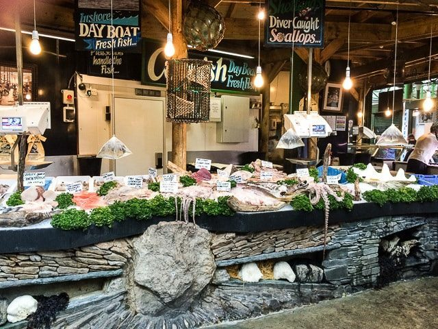 A Fish Market Stall