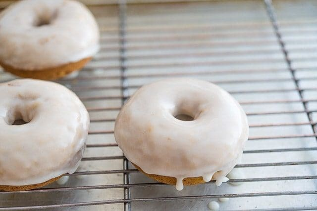 Brown Butter Pumpkin Spice Doughnuts Recipe - These breakfast treats are baked, not fried!