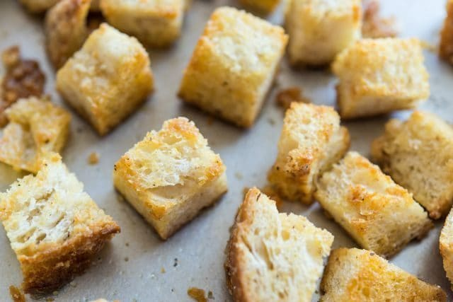Homemade Croutons Recipe - Two easy methods!