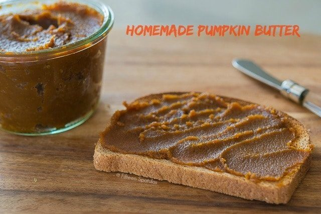Homemade Pumpkin Butter Recipe - Only 20 minutes to make, and can use Fresh OR Canned pumpkin