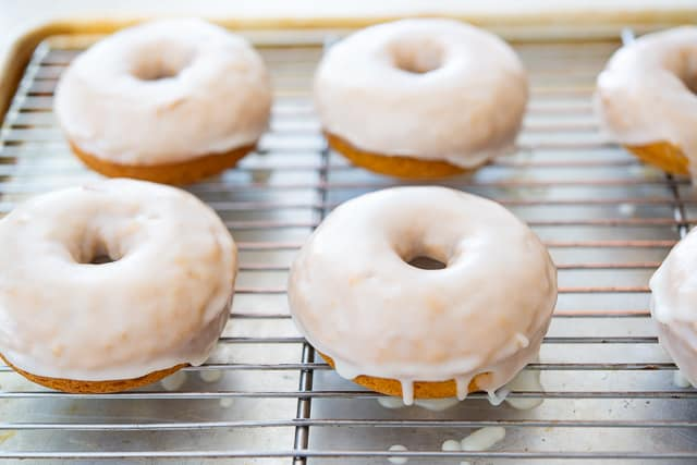 Baked Donuts - With Brown Butter and Butter Glaze