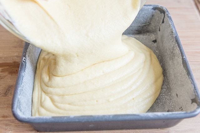 Coffee Cake Batter - Made with Real Butter