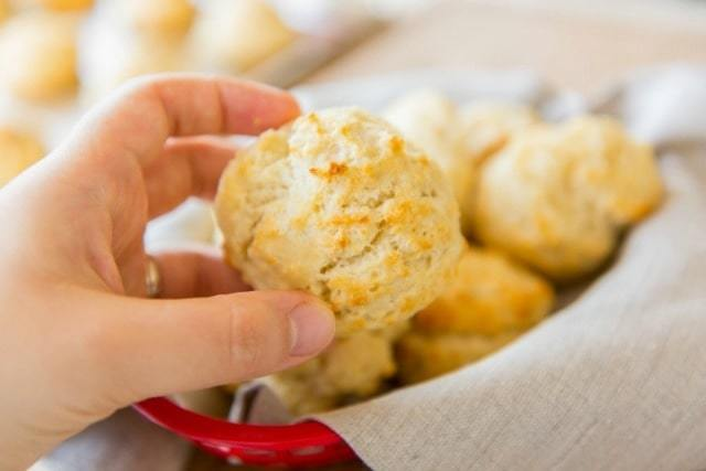 How to Make Drop Biscuits - Easier to make then regular biscuits!