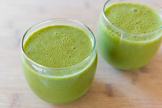 "This Green Smoothie has a nice balanced flavor (not too ""green""), and is a great option for breakfast."