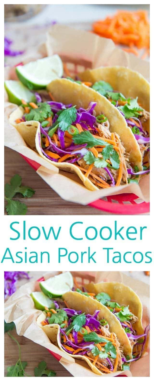 Slow Cooker Asian Pork Tacos with Red Cabbage Slaw Slow Cooker Asian Pork Tacos with Red Cabbage Slaw new pics