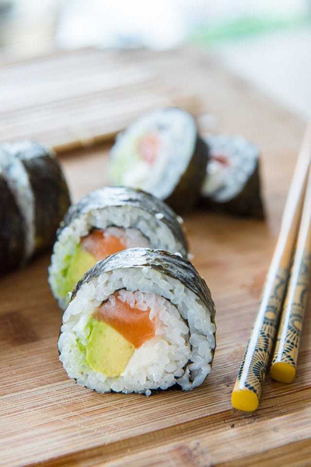 Homemade Sushi is so much cheaper than at the restaurant. Sushi is easy and fun to make at home, and you can put all your favorite ingredients into your perfect custom roll -- here's how!