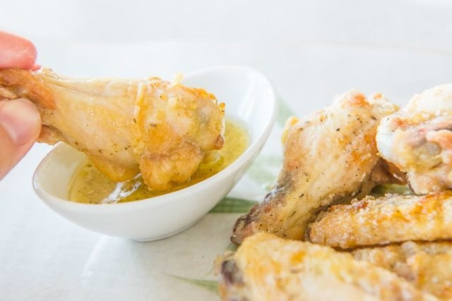 Garlic Parm Wings - Parmesan Chicken Wings