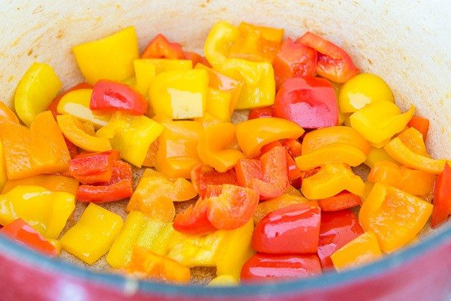 Bell Peppers for Shortcut Ratatouille
