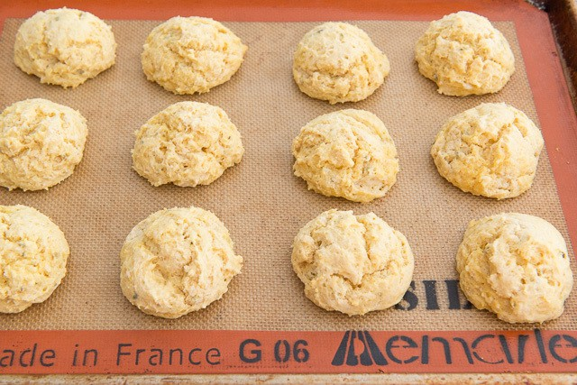 Jen Farley's Pumpkin Sage Drop Biscuits from The Gourmet Kitchen