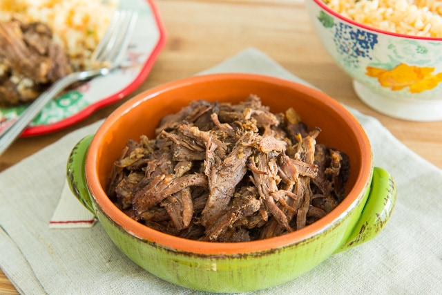 Incredibly easy Slow Cooker Shredded Mexican Beef