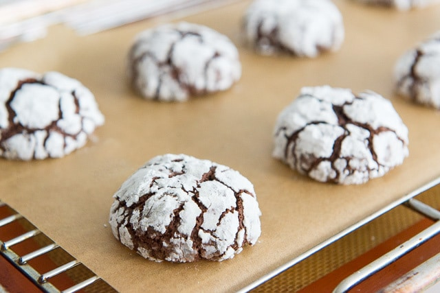 Chocolate Crinkles - Christmas Cookies