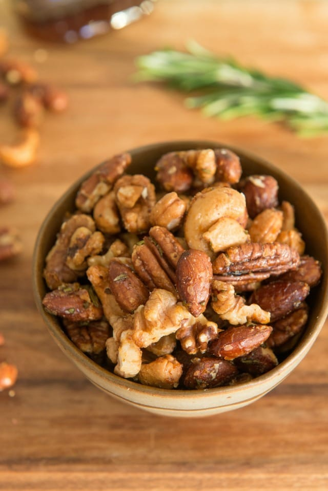 Fancy Roasted Cocktail Nuts