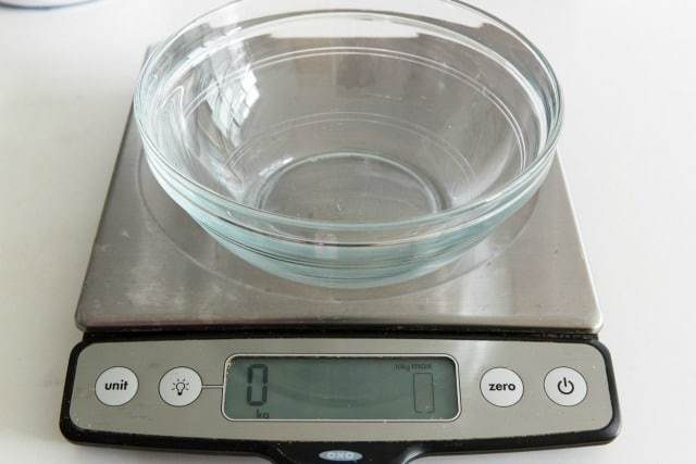 Uses for a kitchen scale