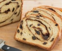 Dietary restriction friendly Homemade Cinnamon Raisin Bread