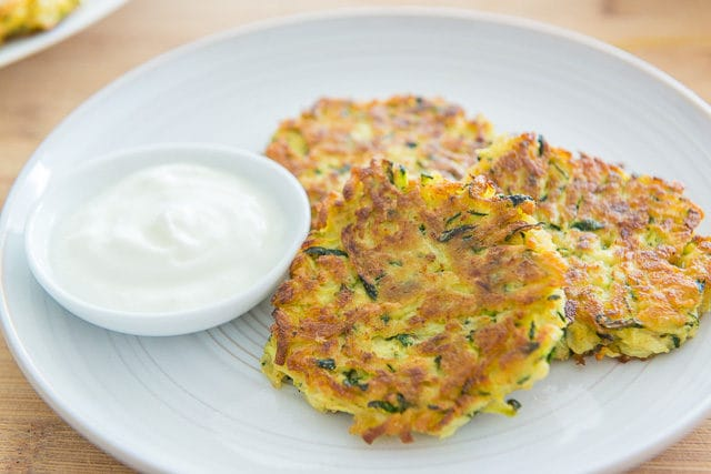 Healthy Zucchini Fritters Recipe