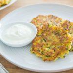 10-minute Healthy Zucchini Fritters Recipe