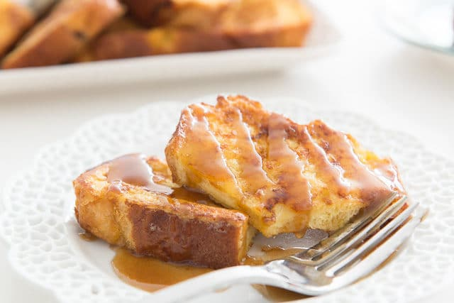 Easy Bananas Foster French Toast Recipe