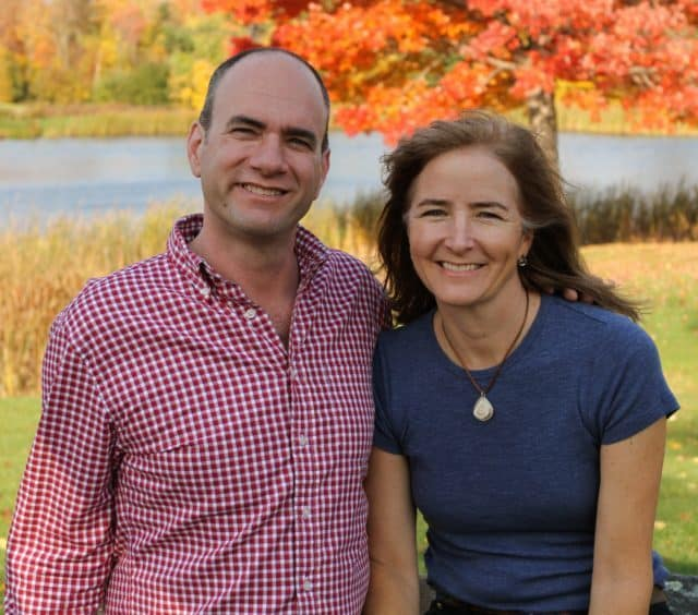 Eric Sorkin And Laura Sorkin From Runamok Maple in Vermont