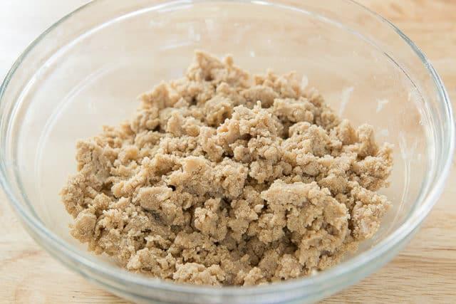 Shortbread Crust Crumbles For Maple Pecan Bars