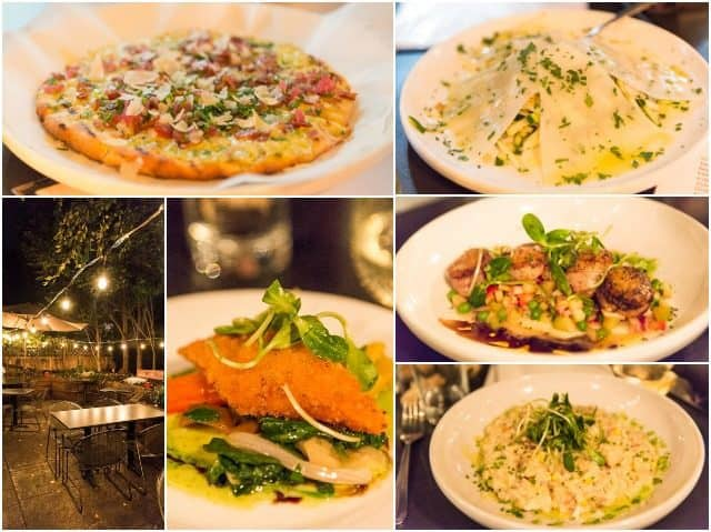 Photo Collage of Dishes from the Best Restaurants in Columbus Ohio