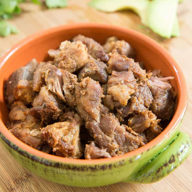 Pork Carnitas Chunks In Michoacan Style From Diana Kennedy