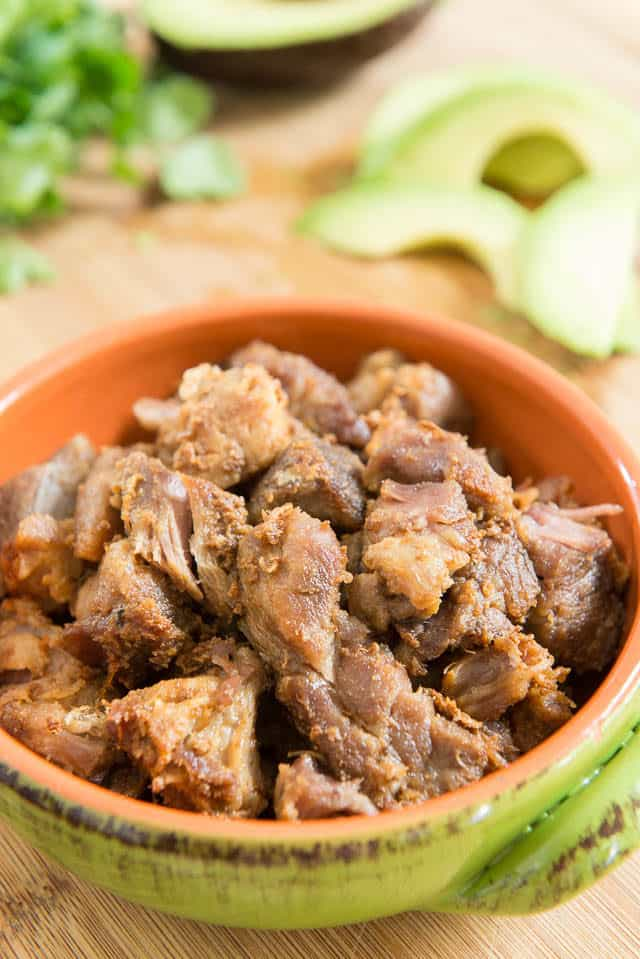 Carnitas Recipe - Diana Kennedy's Pork Carnitas Recipe - So simple and crispy delicious!