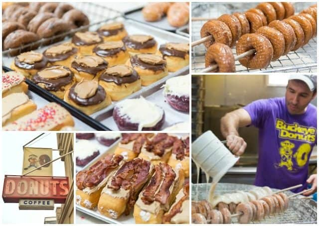 Buckeye Donuts Photo Collage Columbus