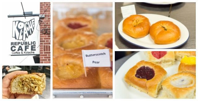 Various Breakfast Pastries in a Photo Collage in Columbus Ohio