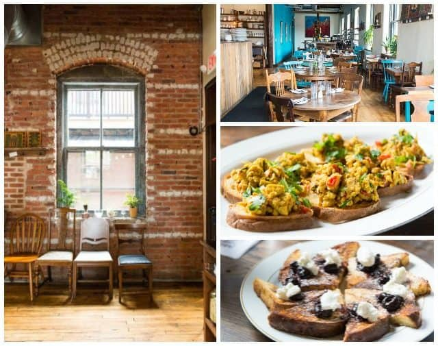 Curried Eggs on Toast and Other brunch Dishes in Columbus