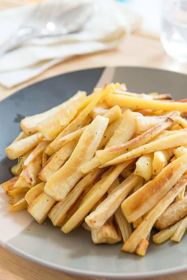 Roasted Parsnips #parsnips #whole30 #vegetables #healthy