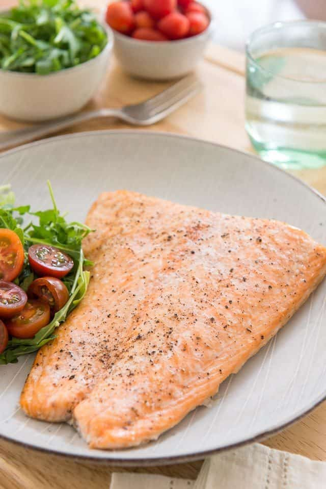 Baked Salmon - How to Bake Salmon in the Oven that's moist and delicious!