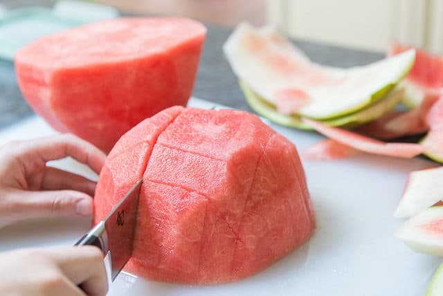 How to Cut Watermelon Sticks