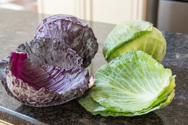 How to Prep Cabbage - Remove Outer Leaves