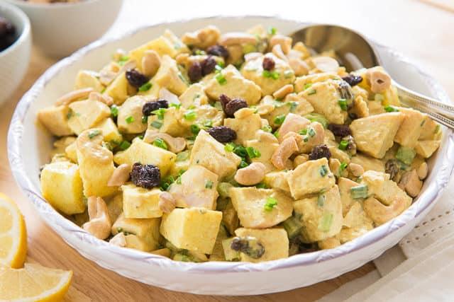 Curry Chicken Salad Recipe - Paleo Curry Chicken Salad