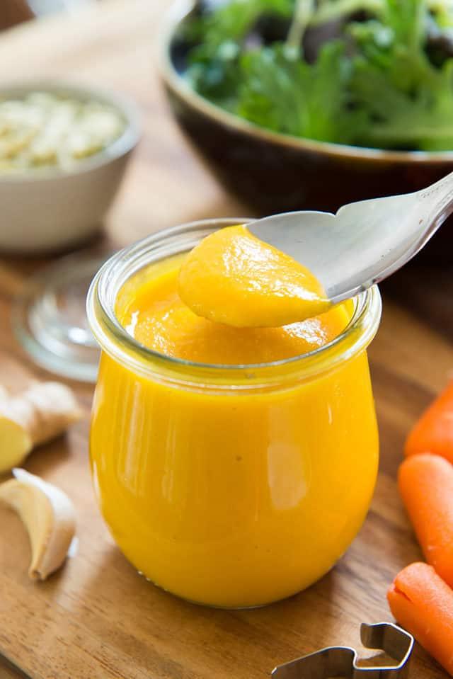 Best Carrot Ginger Dressing