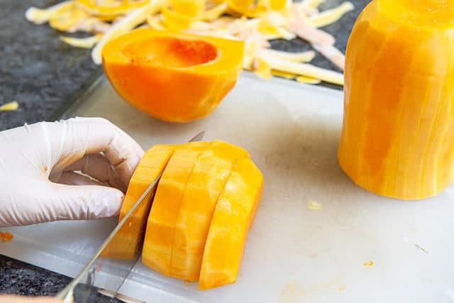 How to Cut Up Butternut Squash