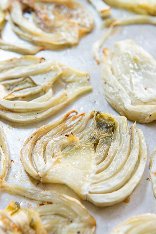 Roasted Fennel - How to Roast Fennel Bulb #healthy #whole30 #recipes #vegan #easy