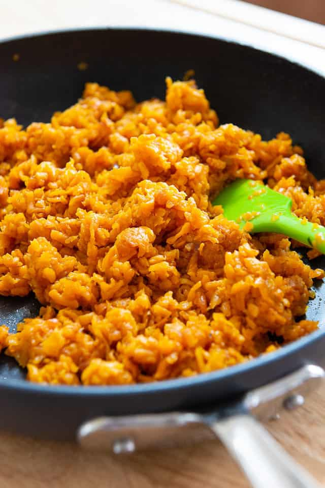Sweet Potato Rice Recipe