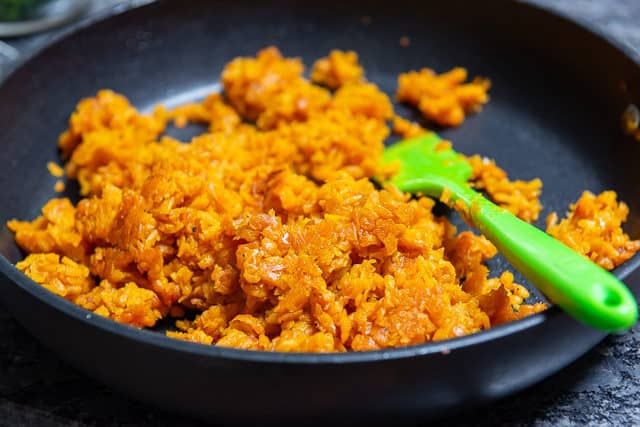 "Sweet Potato ""Rice"" - Sweet Potato Side Dish that's Easy ..."