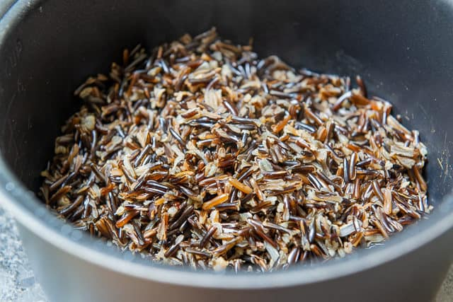 Wild Rice - Cooked in a Rice Cooker
