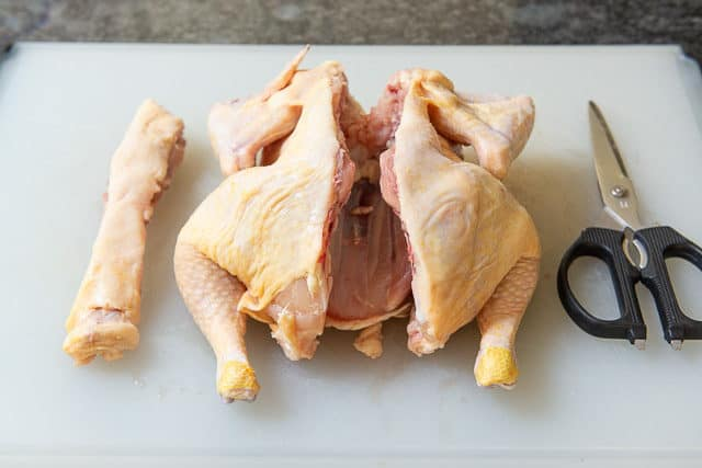 How to Spatchcock a Whole Chicken