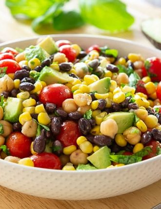 Corn and Avocado Bean Salad