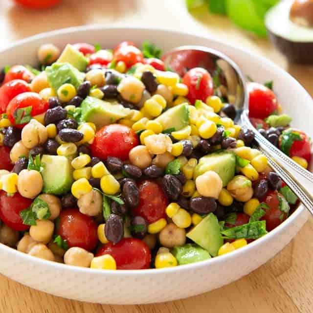 Avocado Salad Recipe With Black Beans