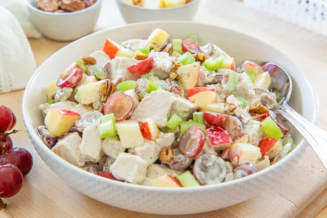 Healthy Chicken Salad - Traditional Chicken Salad Recipes with Fruit and Nuts