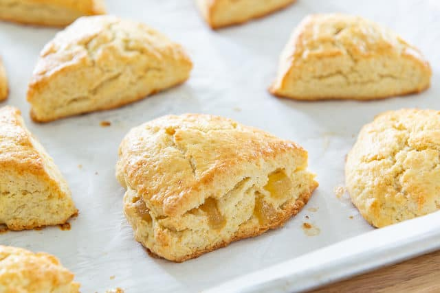 Zingermans - Ginger Scones from Zingermans Bakehouse cookbook